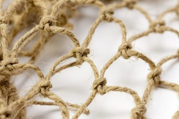 Fishnet reproduced from hemp twine